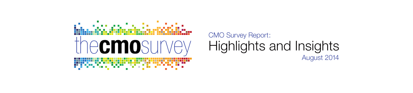 The CMO Survery Report: Highlights and Insights August 2014