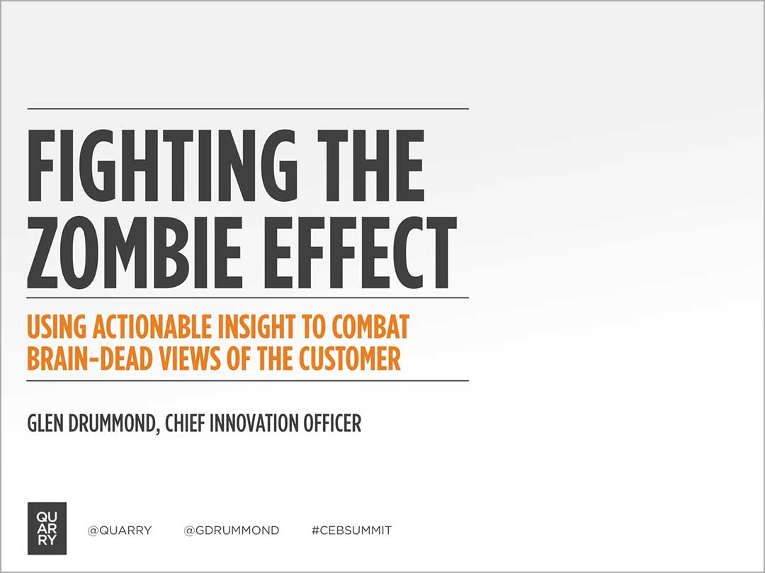 View Fighting the Zombie Effect on SlideShare