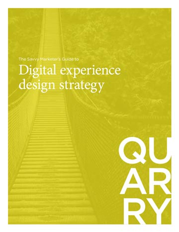 The Savvy Marketer's Guide to Digital Experience Design Strategy